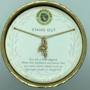 "SLV ""Stand Out"" Flamingo Necklace"